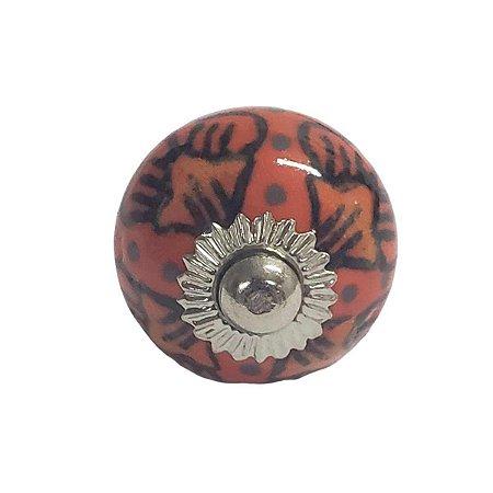 Puxador Cerâmica Indiano Pequeno (Modelo 17)