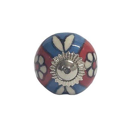 Puxador Cerâmica Indiano Pequeno (Modelo 23)