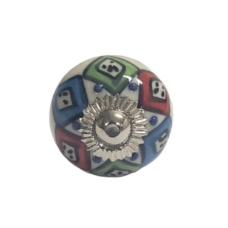 Puxador Cerâmica Indiano Pequeno (Modelo 29)