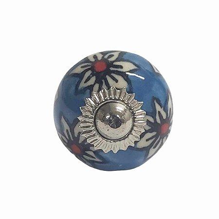 Puxador Cerâmica Indiano Pequeno (Modelo 35)