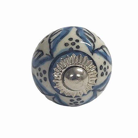 Puxador Cerâmica Indiano Pequeno (Modelo 38)