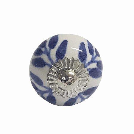 Puxador Cerâmica Indiano Pequeno (Modelo 42)