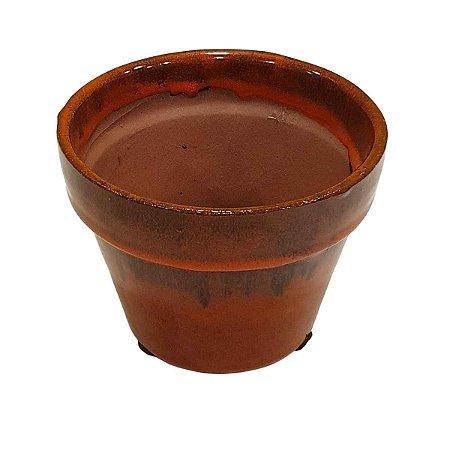 Vaso de Cerâmica Telha 10cm