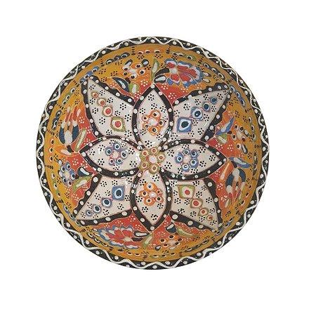 Bowl Turco Pintado de Cerâmica (Modelo 4) 16cm