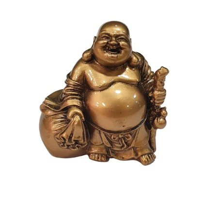 Buda Hotei de Resina Saco da Fortuna (Modelo 1)