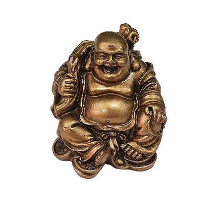 Buda Hotei de Resina Saco da Fortuna (Modelo 2)