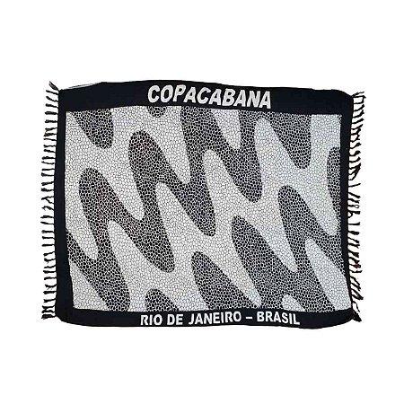 Canga de Praia 100% Viscose - Copacabana 1,60mx1,10m