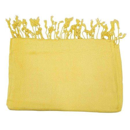 Pashmina 100% Viscose Amarelo 70cmx1,80m