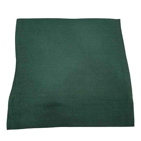 Capa de Almofada de Algodão Lisa Verde 45cmx45cm