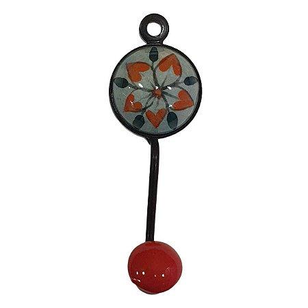 Gancho Unitário Cerâmica Redondo Modelo 16