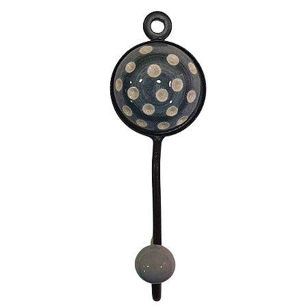 Gancho Unitário Cerâmica Redondo Modelo 13
