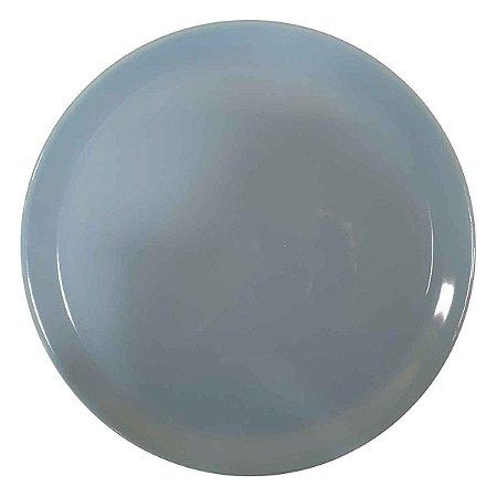 Prato Suspenso p/Doces de Cerâmica Azul (Modelo 3) 33cm