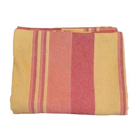 Colcha Indiana Kerala 100% Algodão  Vermelha e Amarela 2,30mx2,10m