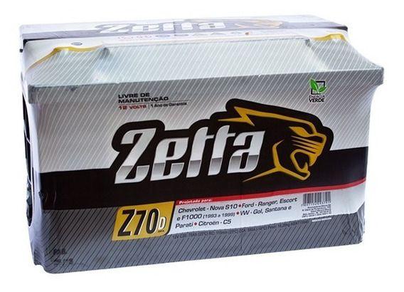 Bateria Zetta Z70D 70 Ah
