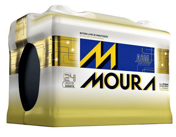 Bateria Moura AGM Start Stop MA70LD 70 Ah.