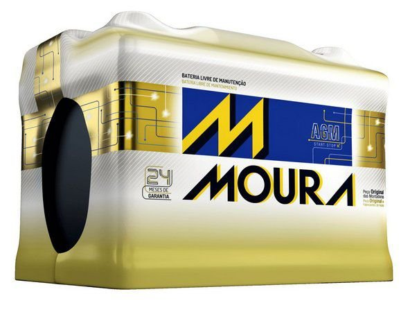 Bateria Moura AGM Start Stop MA105DD 105 Ah.