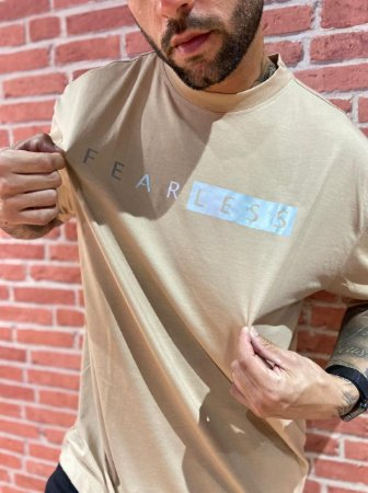Camiseta Oversized Fearless