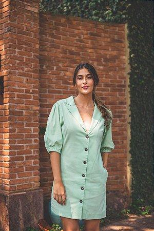 Vestido Gola Blazer