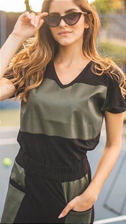 Blusa courinho trend