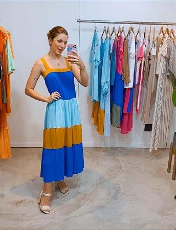 Vestido 3 cores