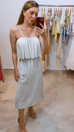 Vestido Cascata