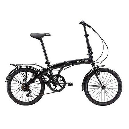Bicicleta Dobrável DURBAN Eco+ Preto