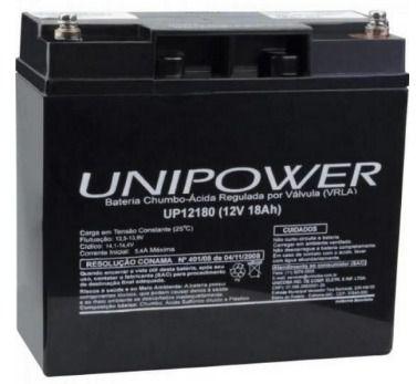 Bateria Selada Unipower 12V/18Ah UP12180 NAC