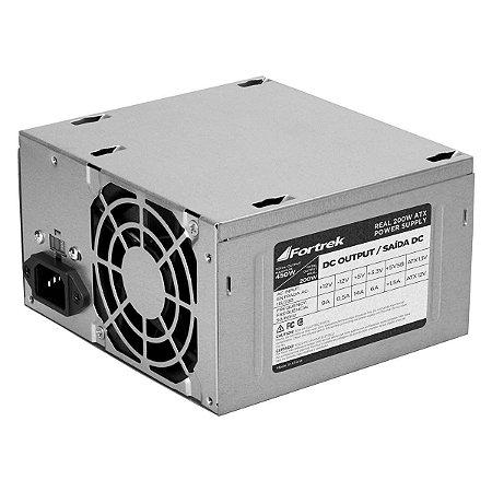 Fonte  Fortrek  PWS-2003 ATX 200W Reais