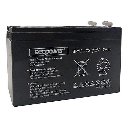 Bateria Selada SecPower SP12-5 12V/7ah