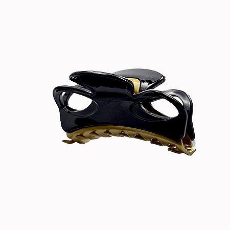 Piranha de cabelo francesa Finestra  preto dourado F2843PBO