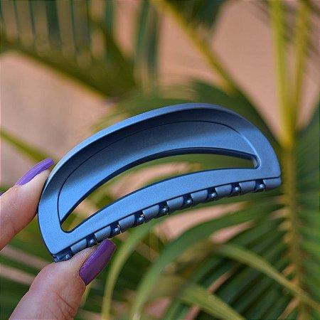 Piranha de cabelo francesa Finestra vazada blue jeans fosco F22942BJ