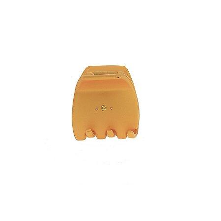 Piranha de cabelo francesa Finestra amarelo fosco strass N748/2sYE