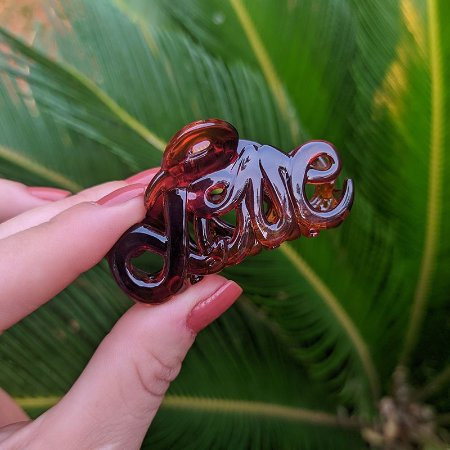 Piranha de cabelo francesa Finestra Love marrom F4603