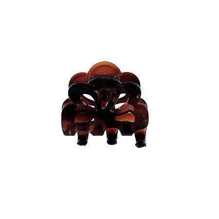 Piranha de cabelo francesa Finestra marrom F2792