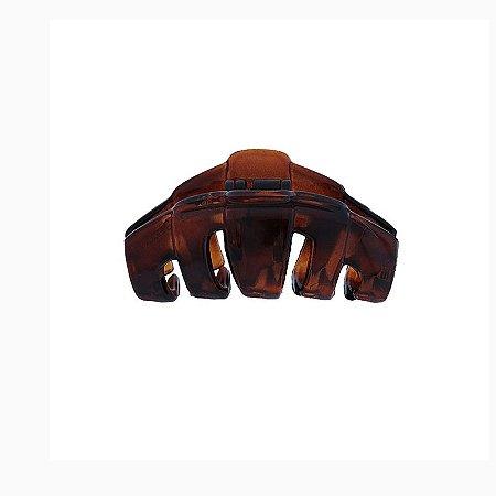Piranha de cabelo francesa Finestra marrom F4855
