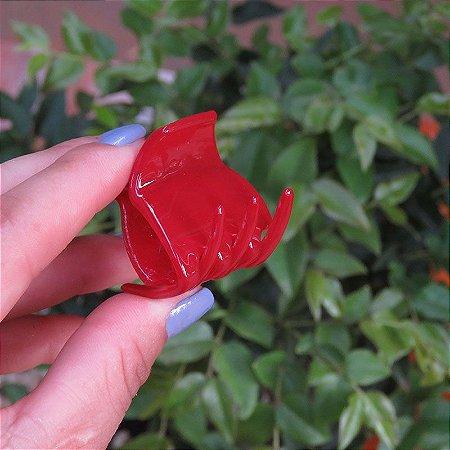 Piranha de cabelo francesa Finestra vermelho N748OP-RO