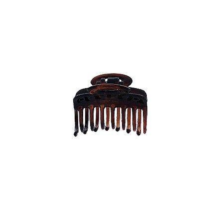 Piranha de cabelo francesa Finestra marrom F4771