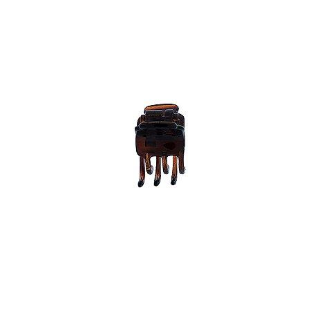 Piranha de cabelo francesa Finestra marrom F4775