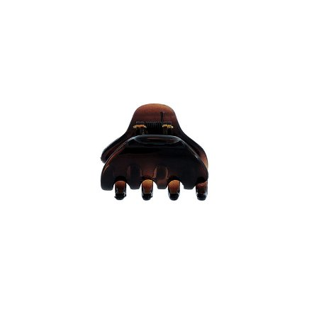 Piranha de cabelo francesa Finestra marrom N341