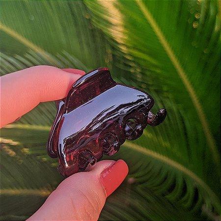 Piranha de cabelo francesa Finestra tartaruga N313