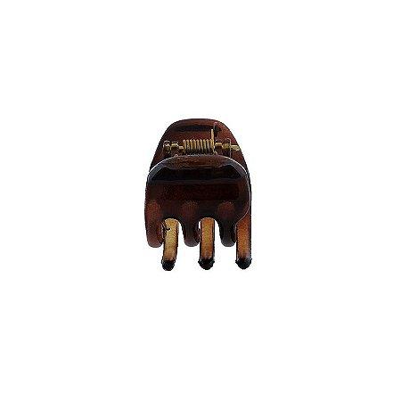 Piranha de cabelo francesa Finestra marrom N252