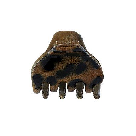 Piranha de cabelo francesa Finestra animal print N341CL