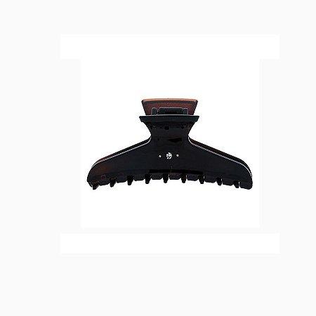 Piranha de cabelo francesa Finestra strass marrom F22941/2S