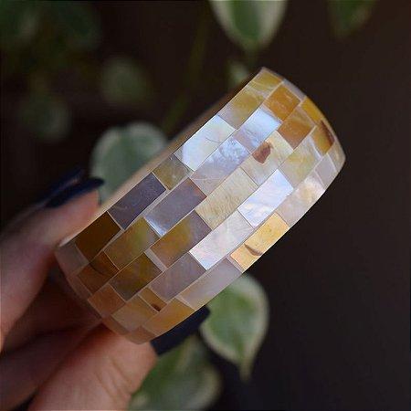 Bracelete madrepérola natural