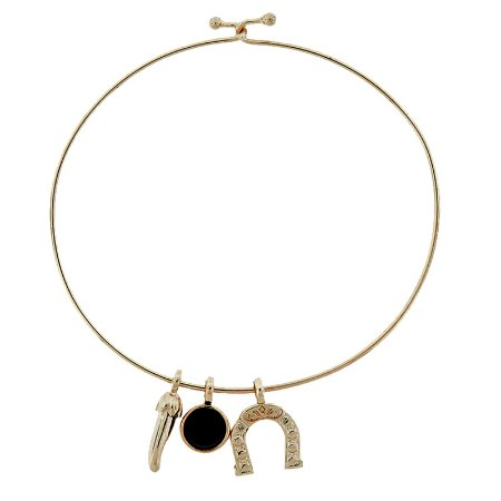 Bracelele amuleto pedra natural ágata preta ouro semijoia