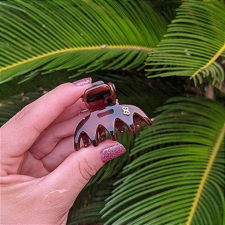 Piranha de cabelo Bianca marrom 05 140