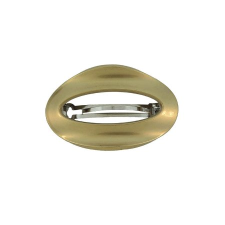 Presilha oval francesa Finestra dourada F2809