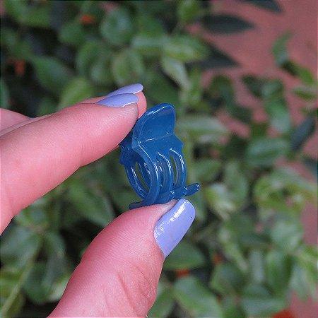 Piranha de cabelo francesa Finestra azul mini N281Blue