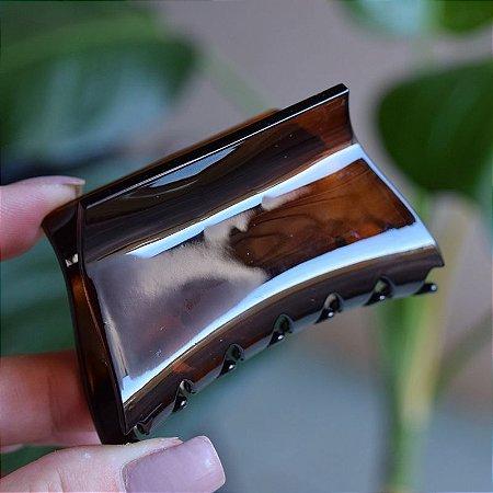 Piranha de cabelo francesa Finestra marrom F22875