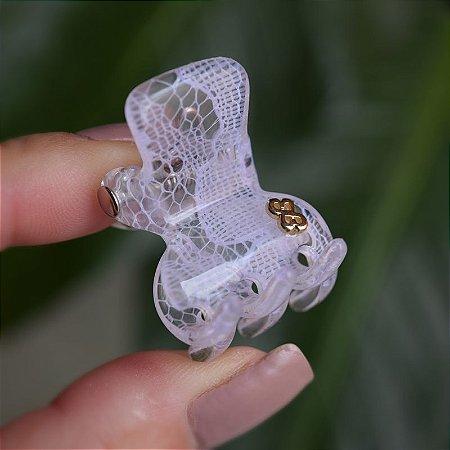 Piranha de cabelo Bianca rendada transparente 05 035 T10